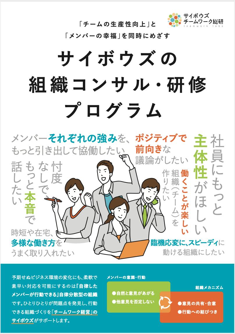 チームワーク総研サービス紹介カタログ
